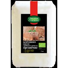 Мука ржаная мелкого помола органическая, 1 кг, Украина, ORGANIC COUNTRY