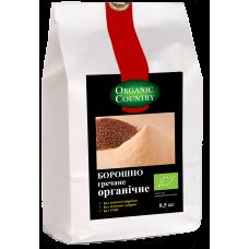Мука гречневая органическая, Украина, 0,5 кг, ORGANIC COUNTRY