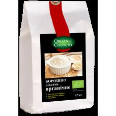 Мука овсяная органическая, Украина, 0,5 кг, ORGANIC COUNTRY