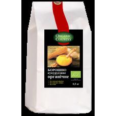Мука кукурузная органическая, Украина, 0,5 кг, ORGANIC COUNTRY