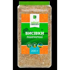 Отруби пшеничные, 200 г, NATURAL GREEN